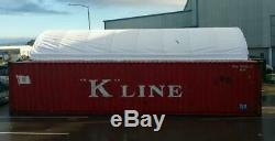 20x40x6.5 Shipping Container Cover Roof Garage Building Shelter Conex Box