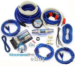 8000w 0 Gauge 4 Awg 3 Rca 2 Way Power Complete Amplifier Install Wire Amp Kit