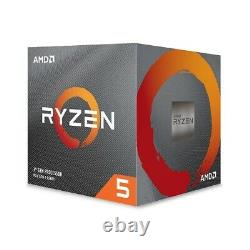 AMD Ryzen 5 3600XT Unlocked Processor with Wraith Spire Cooler + MSI Gaming Mouse