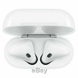 Apple AirPods 2nd Generation with Charging Case White (US Warranty SEALED BOX)