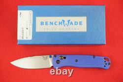 Benchmade 535 Bugout Cpm-s30v Axis Lock Blue Handle Knife New In Box