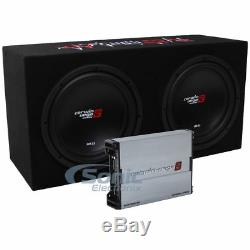 Cerwin-Vega BKX7212S 3000W Amplified Basskit Dual 12 Loaded Subwoofer Bass Box