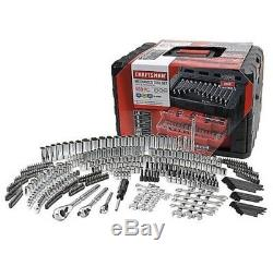 Craftsman 450 Piece Mechanics Tool Set WithCase Wrenches SAE Metric 311 270 NEW