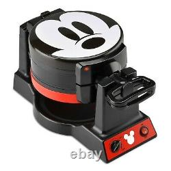 Disney Mickey Mouse 90th Anniversary Double Flip Waffle Maker New in Box Wow