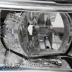 Fit For 07-13 Chevy Silverado 1500/2500/3500 Clear Corner Headlights Replacement