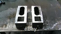 Fits1997-2001 Jeep Cherokee XJ Taillight Boxes Steel set of 2 off-road 4x4 LED