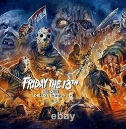 Friday the 13th Collection (Deluxe Edition) New Blu-ray Boxed Set, Deluxe Ed