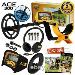 Garrett ACE 300 Metal Detector Anniversary Special with Pinpointer, Box, and Book