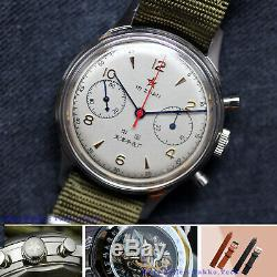 Genuine Brand Seagull 1963 Sapphire+Extra Band+Retail Box-(7 Words Dial Edition)
