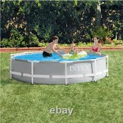 Intex 10'x30 Prism Metal Frame Above-Ground Swimming Pool(Pool Only)(Open Box)