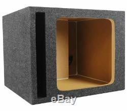 KICKER 45L7R122 12 1200 Watt L7R Subwoofer, Solo-Baric+Vented Sub Box Enclosure