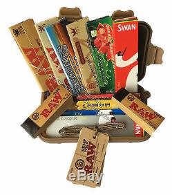 Kingsize Rolling Survival Box Set Storage Case RAW King size Papers, tips, Wick