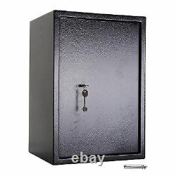Large Strong Steel Safe Key High Security Home Office Money Cash Safety Box