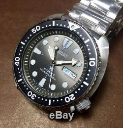 MADE in JAPAN Grey Dial Turtle SEIKO Prospex SRPC23J1 Automatic Box&Warranty #