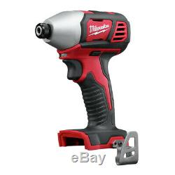 Milwaukee 2697-22PO M18 Compact 2-Tool Combo Kit (3 Ah) with PACKOUT Tool Box New