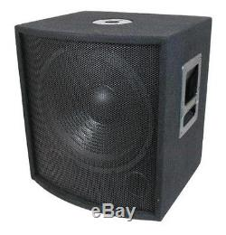 NEW 15 SubWoofer Speaker. Pro Audio. 700w. DJ. PA. Woofer. 8ohm. Fifteen inch BASS sub