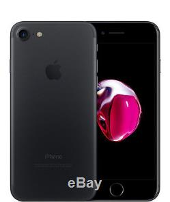 (New) Apple iPhone 7 256GB Open Box UNLOCKED AT&T/T-Mobile Matte Black