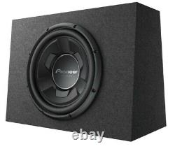 New Pioneer TS-WX126B 1300 Watts 12 Pre Loaded Compact Subwoofer Enclosure Box