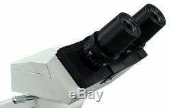 OMAX 40X-2000X Binocular Compound LED Microscope with Mechanical Stage Open-BOX