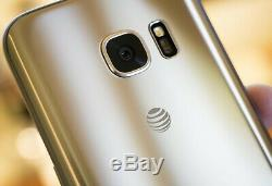 Open Box GSM Unlocked GOLD Samsung Galaxy S7 G930A For AT&T, TMobile, Metro