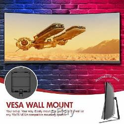 Open Box Viotek GN34CW 34 Ultrawide Curved Gaming Professional 100Hz 1440p 219