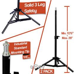 Photography Video Continuous Softbox Lighting Soft Box Boom Arm Light Stand Kit