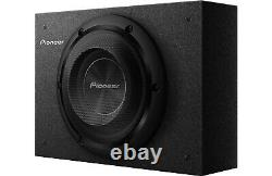 Pioneer TS-A2000LB 700 Watts 8 Under Seat Shallow Truck Subwoofer Box Enclosure