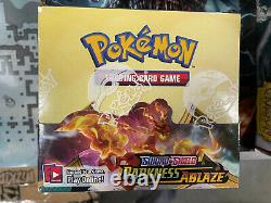 Pokemon Darkness Ablaze Booster Box Sword and Shield 36 packs Brand New