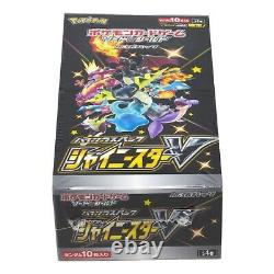 Pokemon Japanese SWSH4a Shiny Star V Booster Box 10 Packs S4a