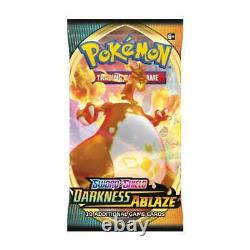 Pokemon Sword & Shield Darkness Ablaze Booster Box of 36 Packs New and Sealed