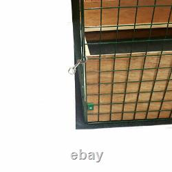 Puppy Dog Whelping Box Play Pen Folding Fence Door Gate Welping Pig Rails Cage