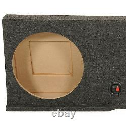 QPower 2004-2008 Ford F150 Xcab or Super Crew Dual 12 Subwoofer Box Enclosure