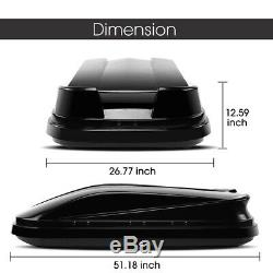 Rooftop Cargo Box Waterproof Rooftop Cargo Carrier Heavy Duty Roof Storage Box