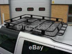 Rugged Roof Rack Luggage Basket Roof Bars Ski Box for Land Rover Discovery 3&4