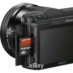 Sony Alpha a5100 24.3MP HD 1080p Mirrorless Digital with 16-50mm Lens (OPEN BOX)