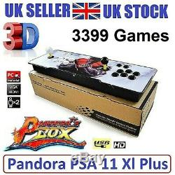 UK SELLER 3399 Games Pandora's Box 11s Retro 3D HD USB Video Arcade Console 6 9s