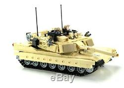 Ultra M1a2 Abrams Main Battle Tank custom set made with REAL LEGO bricks