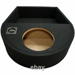 Universal Fit Single 10 Subwoofer Sealed Replacement Spare Tire Custom Sub Box
